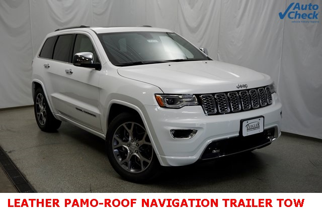 Jeep Grand Cherokee Overland >> Pre Owned 2019 Jeep Grand Cherokee Overland 4wd