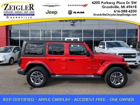 Pre-Owned 2020 Jeep Wrangler Unlimited Sahara 4WD