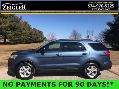 Pre-Owned 2019 Ford Explorer Base FWD 4D Sport Utility