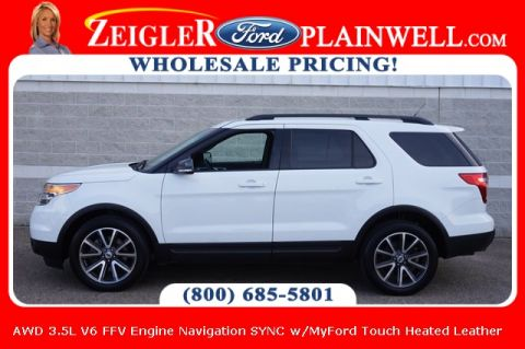 Pre-Owned 2015 Ford Explorer XLT With Navigation & 4WD