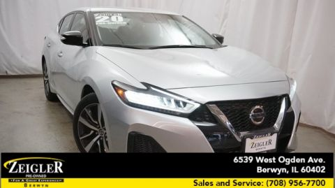 Pre-Owned 2020 Nissan Maxima 3.5 SV With Navigation