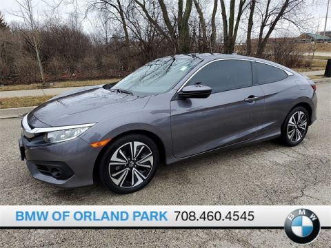 Pre-Owned 2018 Honda Civic EX-T FWD 2D Coupe