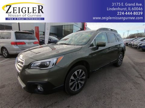 Pre-Owned 2017 Subaru Outback 2.5i With Navigation & AWD