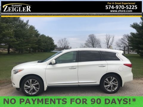 Pre-Owned 2013 INFINITI JX35 Base AWD