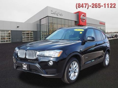 Pre-Owned 2016 BMW X3 xDrive28i With Navigation & AWD