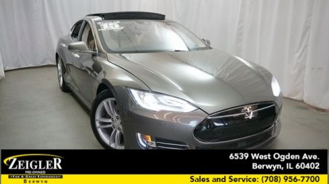 Pre-Owned 2015 Tesla Model S 70D With Navigation & AWD