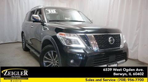 Pre-Owned 2018 Nissan Armada SL With Navigation