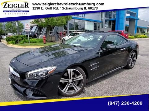 Pre-Owned 2017 Mercedes-Benz SL-Class SL 450 With Navigation