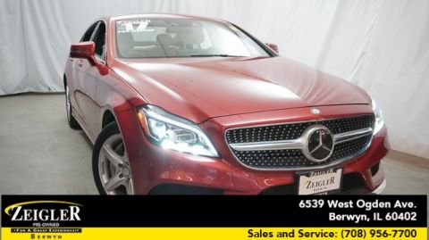 Pre-Owned 2017 Mercedes-Benz CLS CLS 550 With Navigation