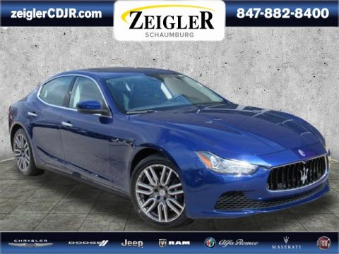 Pre-Owned 2017 Maserati Ghibli S Q4 With Navigation & AWD